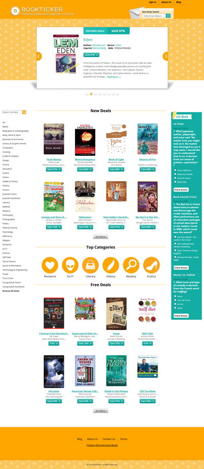 Website screen capture