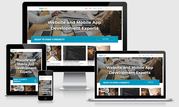 AppLite - Responsive - Multiple Platforms
